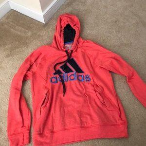 Orange/blue adidas hoodie. Great condition